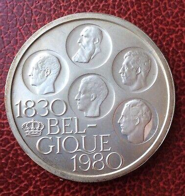 Belgique - Baudouin - Magnifique 500 Francs 1980 FR - Proof en argent
