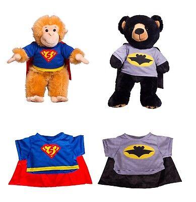 Super Hero Teddy T shirt for Build a Bear (teddy mountain) (Build A Bear Superhero)