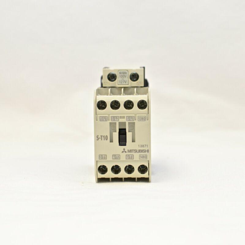 MITSUBISHI Magnetic Contactor S-T10 3A1a Coil: 100~127V