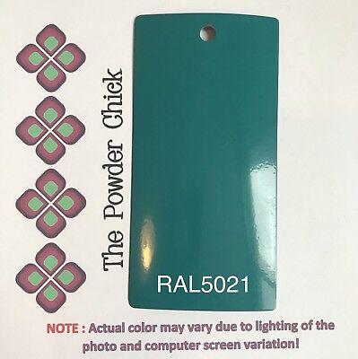 Ral 5021 4941190 Water Blue Powder Coating Paint 1lb Bag New
