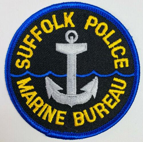 Suffolk Police Marine Bureau Long Island New York NY Patch (A6)