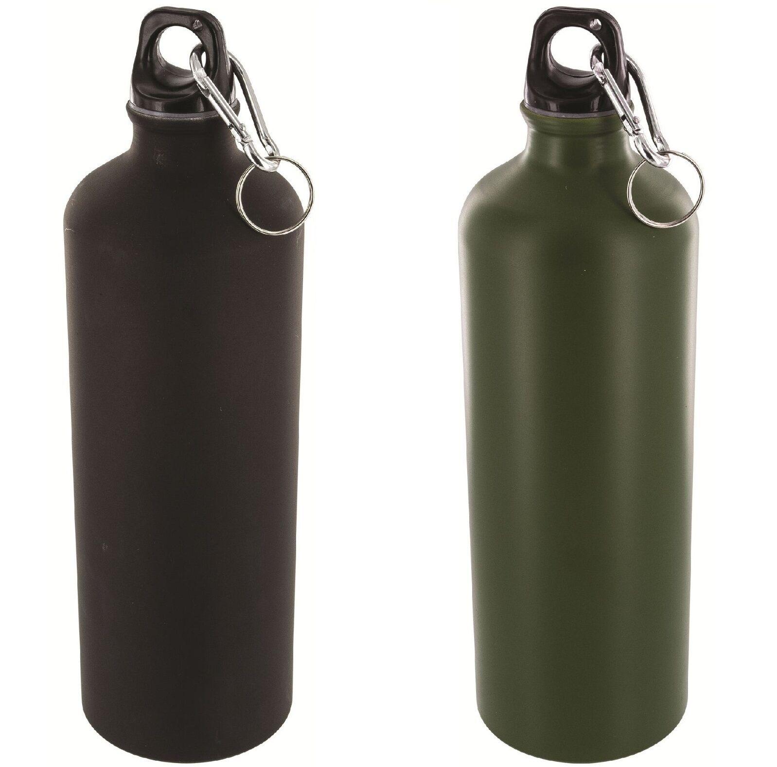 Mountain Warehouse 1L Metallic Bottle With Karabiner - 1 ...