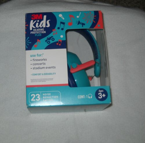 3M Kids Hearing Protection PLUS Ear Muffs