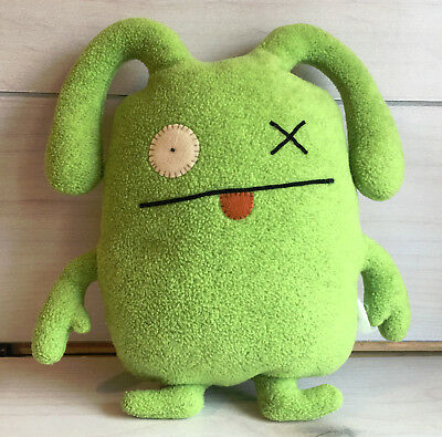 "A63 Ugly Doll Green Ox Plush! 12"" Lovey Stuffed Toy for sale  Justice"