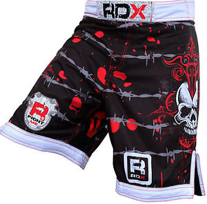 RDX-Fight-Shorts-MMA-Grappling-Short-Kick-Boxing-Muay-Thai-Mens-Pants-Wear-UFC-M