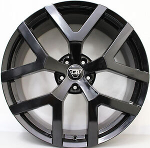 20 inch G8 Wheels- GLOSS Black &  New Tyres VERY  LIMITED STOCK AVAILABLE