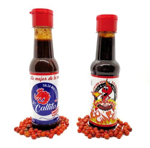 Salsa la Callita y Salsa la Camañanga, Las Originales + 10 Chiles Chiltepines