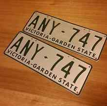 ANY-747 original garden state plates Templestowe Manningham Area Preview