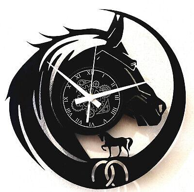 Reloj de Pared - Idea de Regalo - Senderismo Deportes Equitación -...
