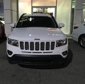 2016 JEEP Compass Limited 4x4 all leather fully equipped LOW KM