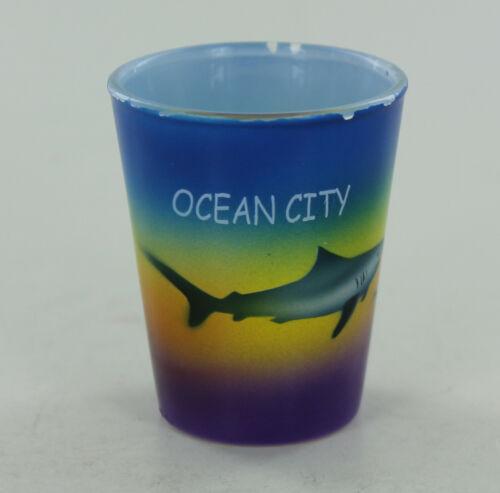 Ocean City Shot Glass - Sharks
