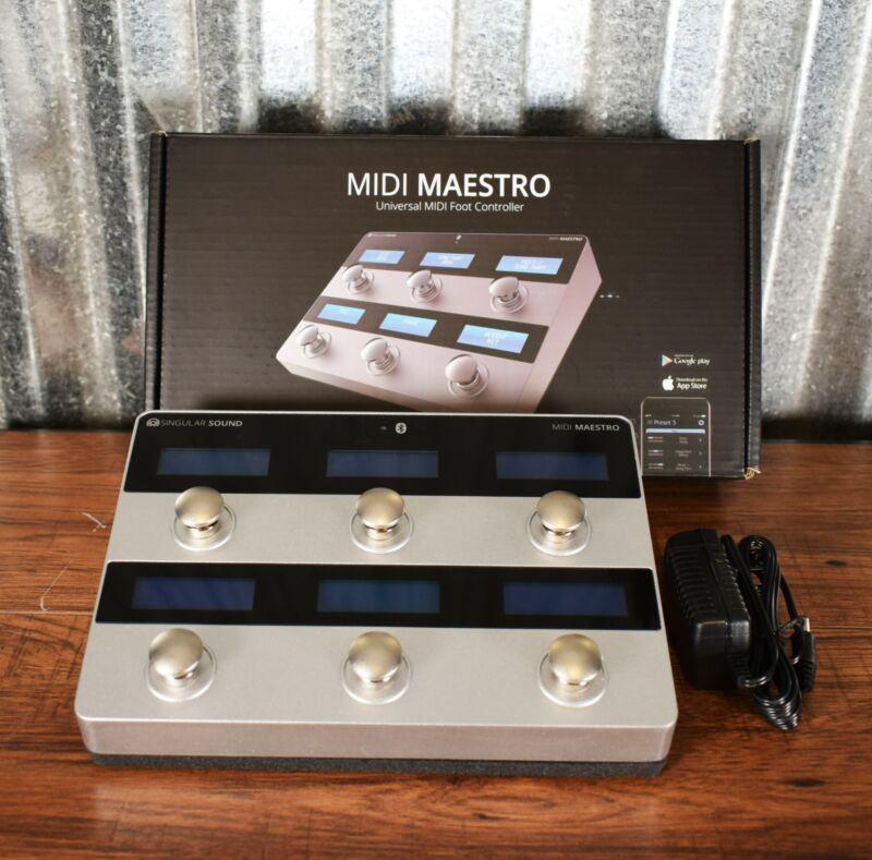 Singular Sound MIDI Maestro 6 Button Foot Switch Controller