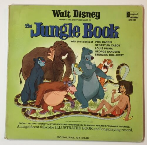 Disney  Jungle Book LP Record