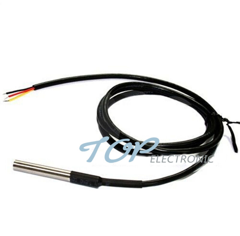 Waterproof Digital Thermal Probe LM35DZ Temperature Probe sensor Module Arduino