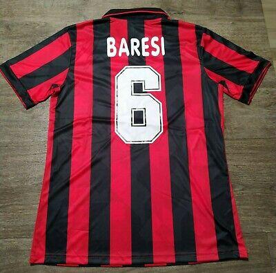 Maglia Vintage calcio MILAN anno 93-94 Franco BARESI N°6 taglia M manica...
