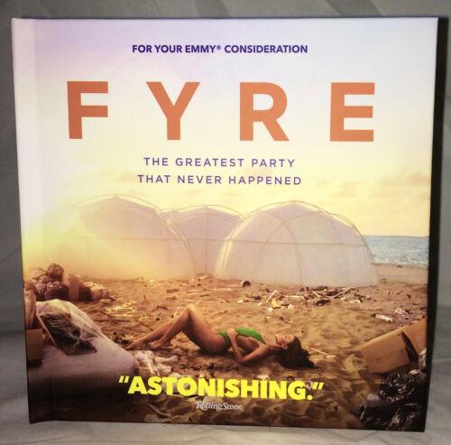 FYRE Greatest Party That Never Happened DVD Film FYC 2019 Netflix JaRule HOAX