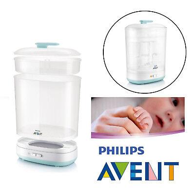 Philips Avent Bebé biberones eléctrico ESTERILIZADOR DE VAPOR 2 en 1 se adapta a
