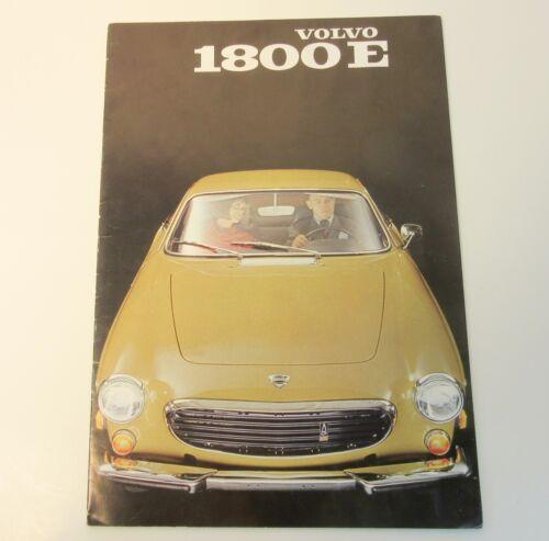 1970 Volvo 1800 E Brochure
