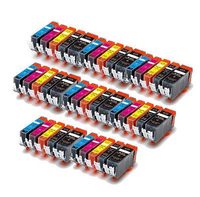 40 Pack PGI-220 CLI-221 Ink Cartridges for Canon PIXMA MP560 MP620 MP640 Printer ()