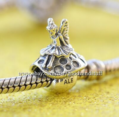 Forest Fairy Authentic Pandora Sterling Silver Charm - Forest Fairy