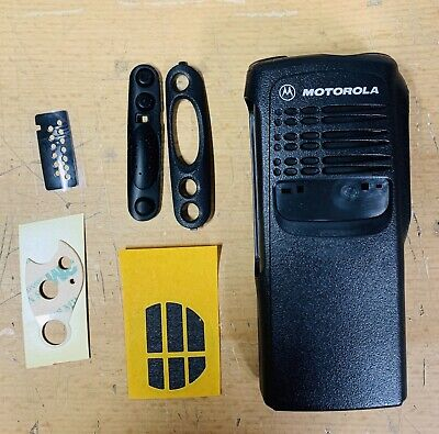 4 New Motorola Ht750 Front Case Housing 1580666z03 With Ptt Cover Accessories
