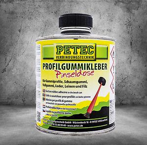 PETEC Profilgummikleber Pinseldose 350ml  93835