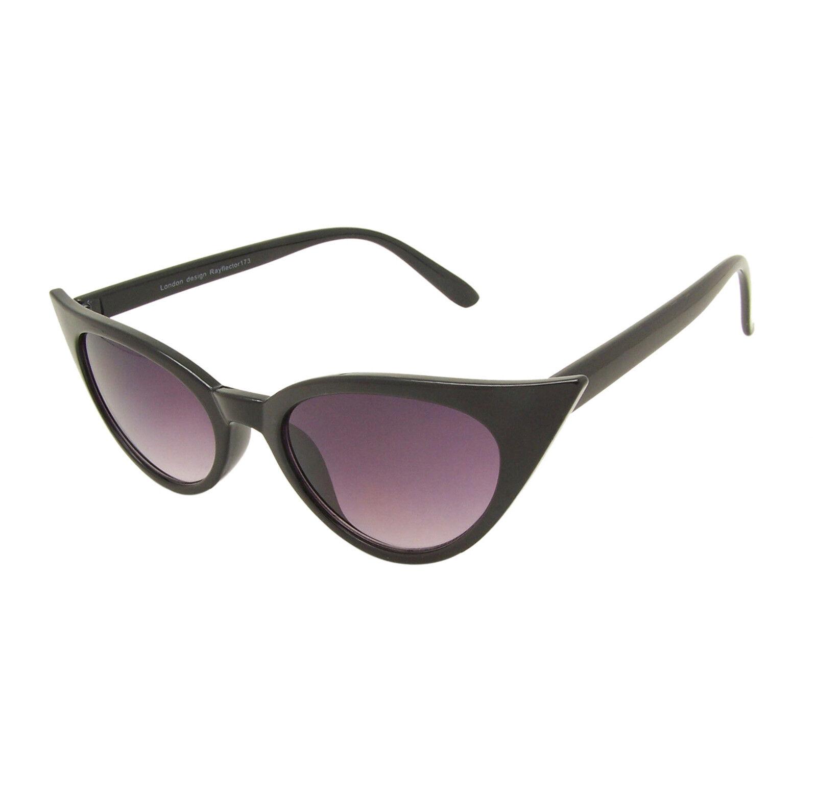 Womens Rockabilly 50s Retro Style Pointy Sharp Cat Eye