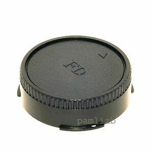 Rear replacement cap , fits Canon  FD manual focus film camera lens