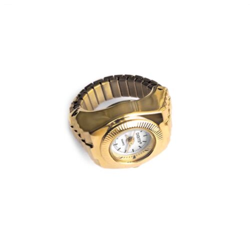 Stellar Sphere Ring Watch in Gold