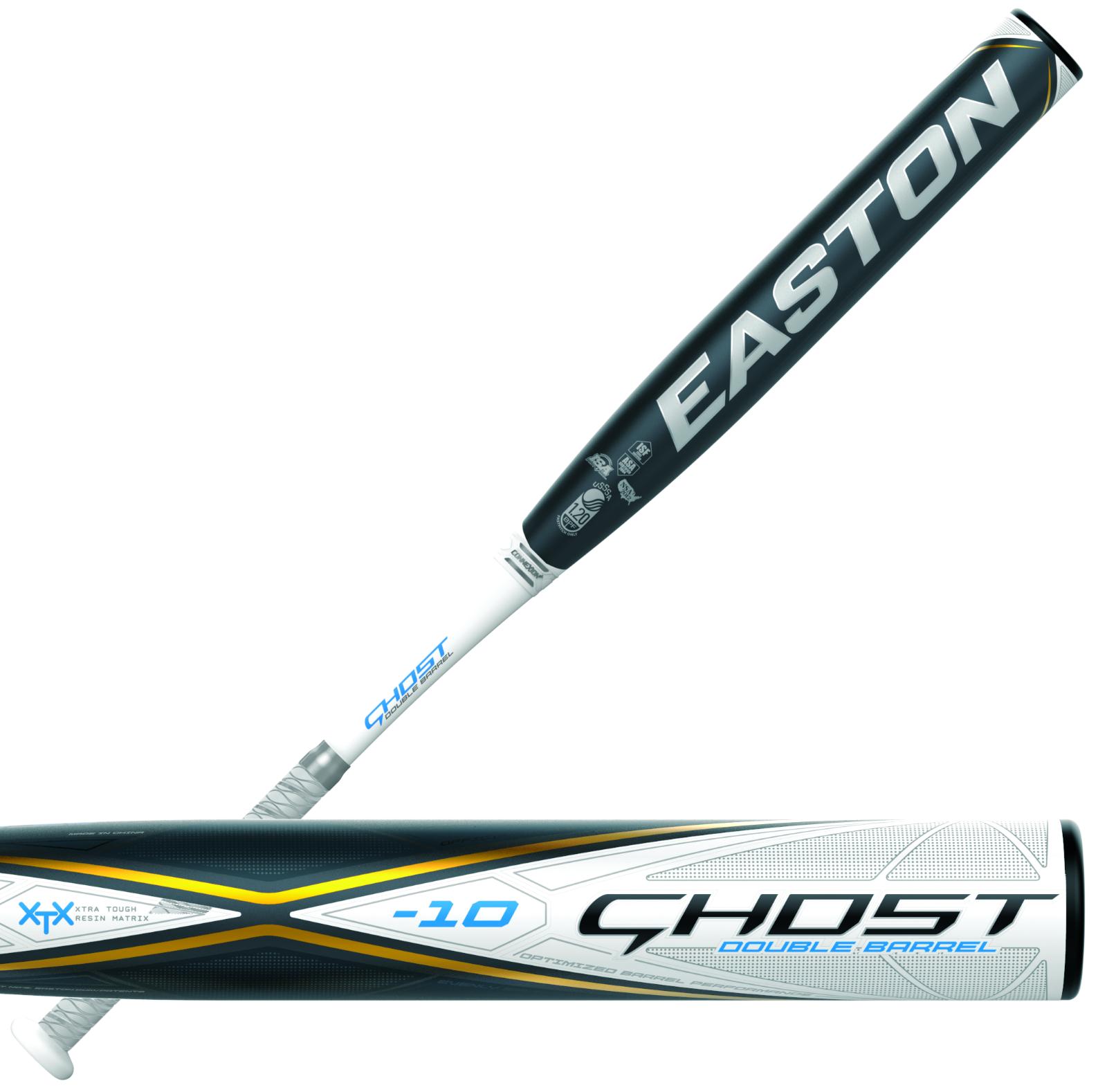 "2020 Easton Ghost Double Barrel -10 34""/24 oz. Fastpitch Sof"