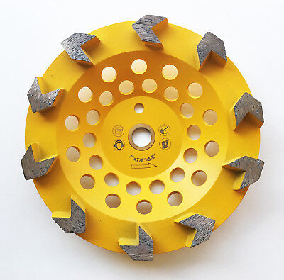 New 7 Arrow Segments Edco Diamond Grinding Cup Wheel Wpin Hole- The Best