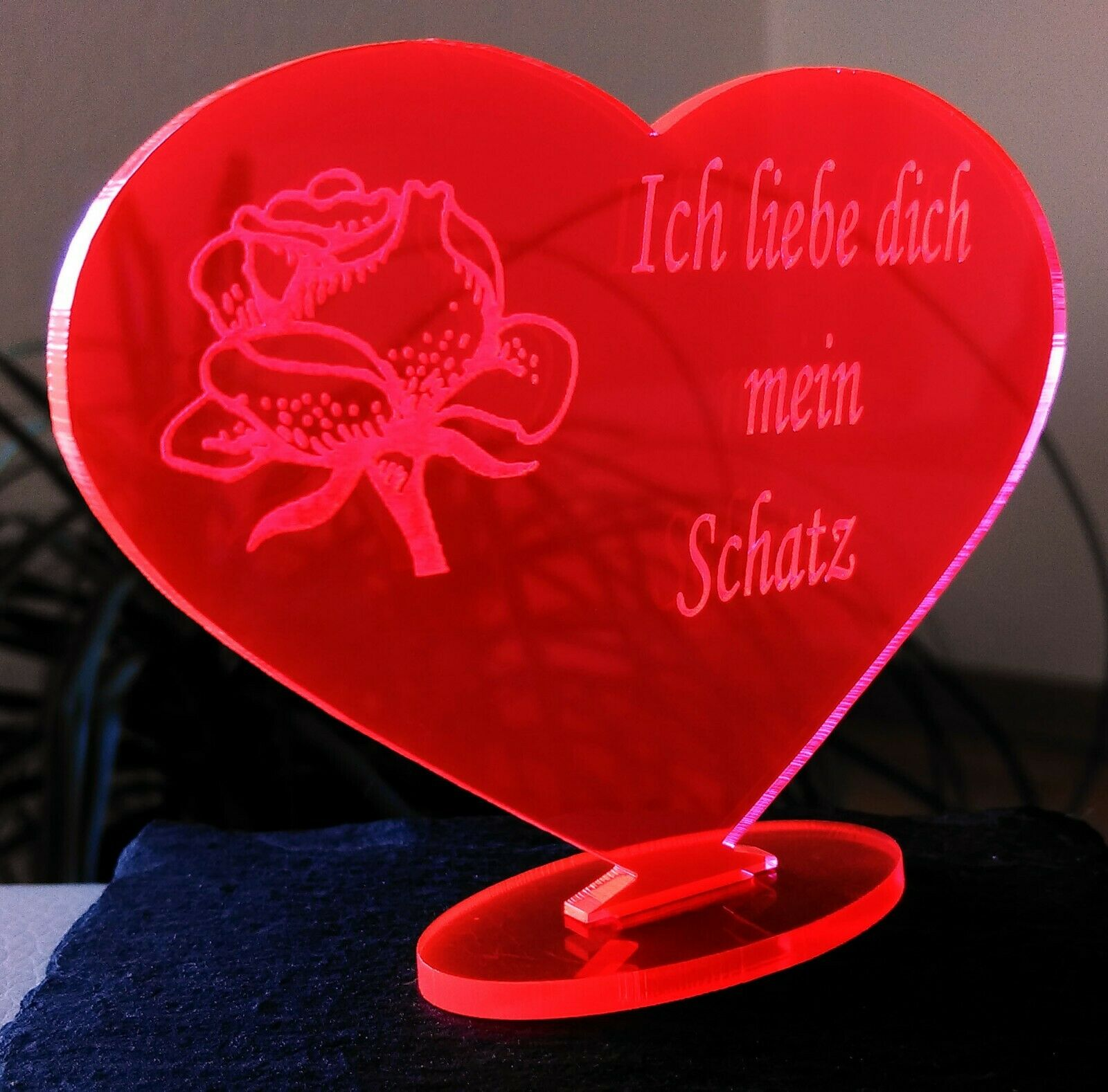 Herz Ich Liebe Dich Valentinstag Geschenk Geburtstag