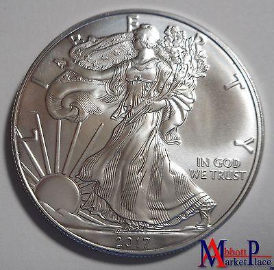 2017 1 oz BU Silver American Eagle LT3429