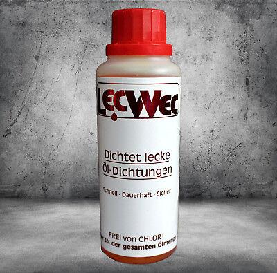 LecWec Öldichtung 100 ml gegen Ölverlust von Motor und Getriebe