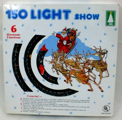 TRIM A HOME 150 MULTI-COLOR LIGHT SHOW CHRISTMAS OR WEDDING 6 FUNCTIONS NEW