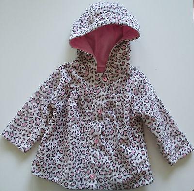 (Leopardenmuster ) Fleece-Jacke Größe 80