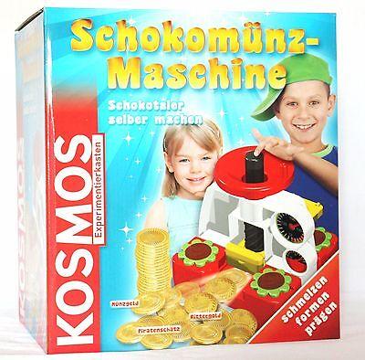 Kosmos Schokomünz-Maschine, Schokotaler selber machen-Experimentierkasten 633813