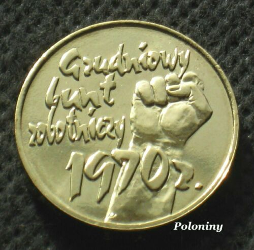 COMMEMORATIVE COIN OF POLAND - 30th ANNIVERSARY DECEMBER EVENTS IN 1970 (MINT)