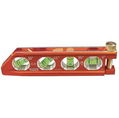 Klein Tools 935AB4V ACCU-BEND™ Level, 4 Vial, (Level Tool)