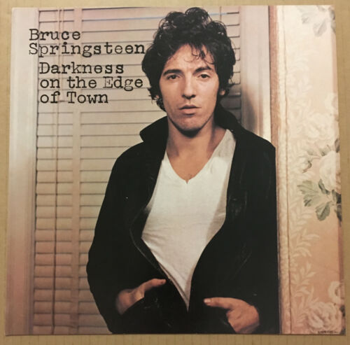 BRUCE SPRINGSTEEN Rare 1978 PROMO POSTER FLAT for Darkness Edge CD 12x12 USA