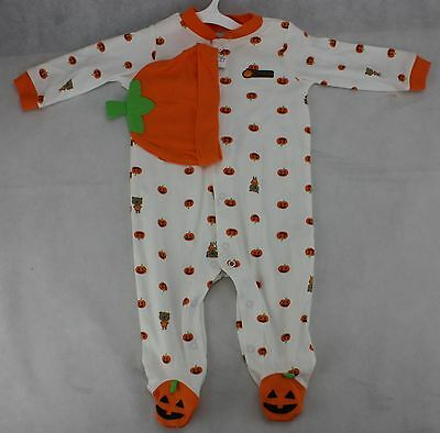 My First Halloween Infant Carter's Pumpkin Costume & Hat Size 6 months 12-16 lbs (Baby Halloween Costumes Pumpkin)