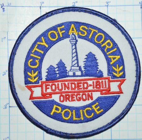 OREGON, CITY OF ASTORIA POLICE DEPT PATCH