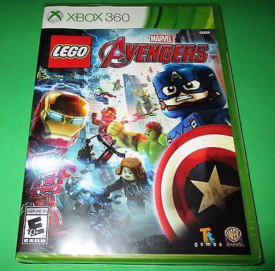 LEGO Marvel's Avengers Microsoft Xbox 360 *Factory Sealed *Free Shipping