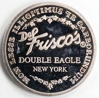 DEL FRISCO'S 1-OZ.999 SILVER 1994 DOUBLE EAGLE NEW YORK CITY