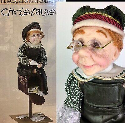Jacqueline Kent Santa's Elf Doll Maila Master Apprentice 342244 Giftcraft NIB ()