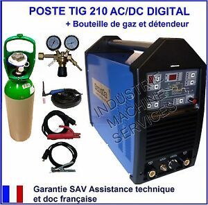 POSTE A SOUDER SOUDAGE TIG 210 ACDC HF INVERTER IGBT GAZ ARGON détendeur - France - État : Neuf: Objet neuf et intact, n'ayant jamais servi, non ouvert, vendu dans son emballage d'origine (lorsqu'il y en a un). L'emballage doit tre le mme que celui de l'objet vendu en magasin, sauf si l'objet a été emballé par le fabricant d - France
