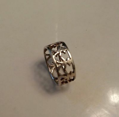BEAUTIFUL STERLING SILVER RING OF LITTLE GIRLS  SIZE  7 3/4 ((199))](Little Girls Rings)
