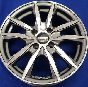 SET OF FOUR (4) AUSCAR 15x6 4/100 et38 APEX Ferntree Gully Knox Area Preview
