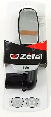 Zefal Spin Bicycle Mirror Dropbar 360-Degree Rotation Road MTB Lightweight 50g