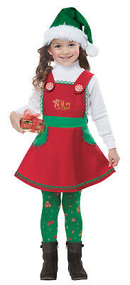 - Elf in Charge Toddler Christmas Costume